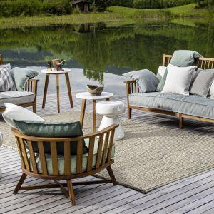 Sofa i fotele INOUT 703 z oferty firmy Gervasoni. Do kupienia w Mood-Design. Fot. Gervasoni