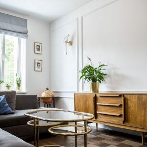 Mieszkanie w starej kamienicy. Zobacz wnętrze po remoncie na warszawskiej Pradze. Dekorian Home x Deer Design. Fot. Marta Wołosz-Molenda.