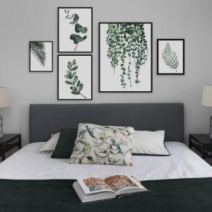 Wnętrze pełne zieleni. Projekt mieszkania w kamienicy. Projekt Decoroom. Fot Mateusz Pawelski