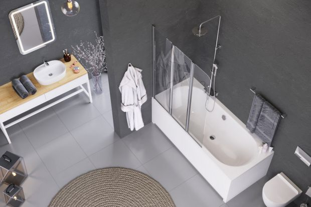 Parawan nawannowy to doskonałe rozwiązanie do łazienek o niewielkim metrażu. Zyskujemy, bowiem zalety wanny i kabiny prysznicowej, w jednym produkcie.