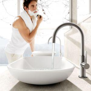 Bateria umywalkowa PROJECT dostępna w ofercie firmy Tres. Fot. Tres