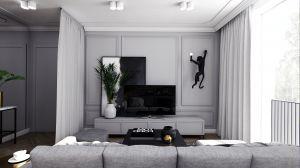 Mieszkanie w stylu klasycznym - salon.  https://milkdesigns.pl/mieszkanie_klasyczne.html