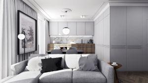 Mieszkanie w stylu klasycznym - kuchnia.  https://milkdesigns.pl/mieszkanie_klasyczne.html