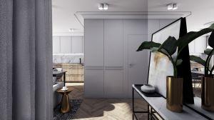 Mieszkanie w stylu klasycznym - przedpokój.  https://milkdesigns.pl/mieszkanie_klasyczne.html