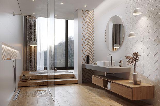 Naturalne materiały, eksperymenty z kolorami, wzorami i formatami oraz powrót do ceramicznych tradycji — w tym roku w łazienkach będą panować różnorodne motywy, które mają wyrazić osobowość domowników.