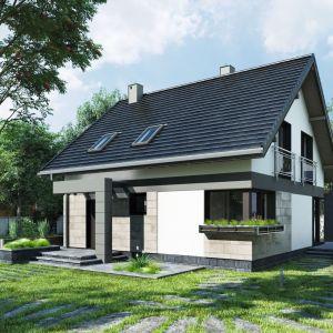 Nazwa projektu: Melinda (E-1295). Powierzchnia użytkowa: 108.30 m². Projekt wykonano w pracowni: Archeton