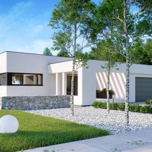 Nazwa projektu: HomeKONCEPT 73. Powierzchnia użytkowa: 174.30 m². Projekt wykonano w pracowni: HomeKONCEPT