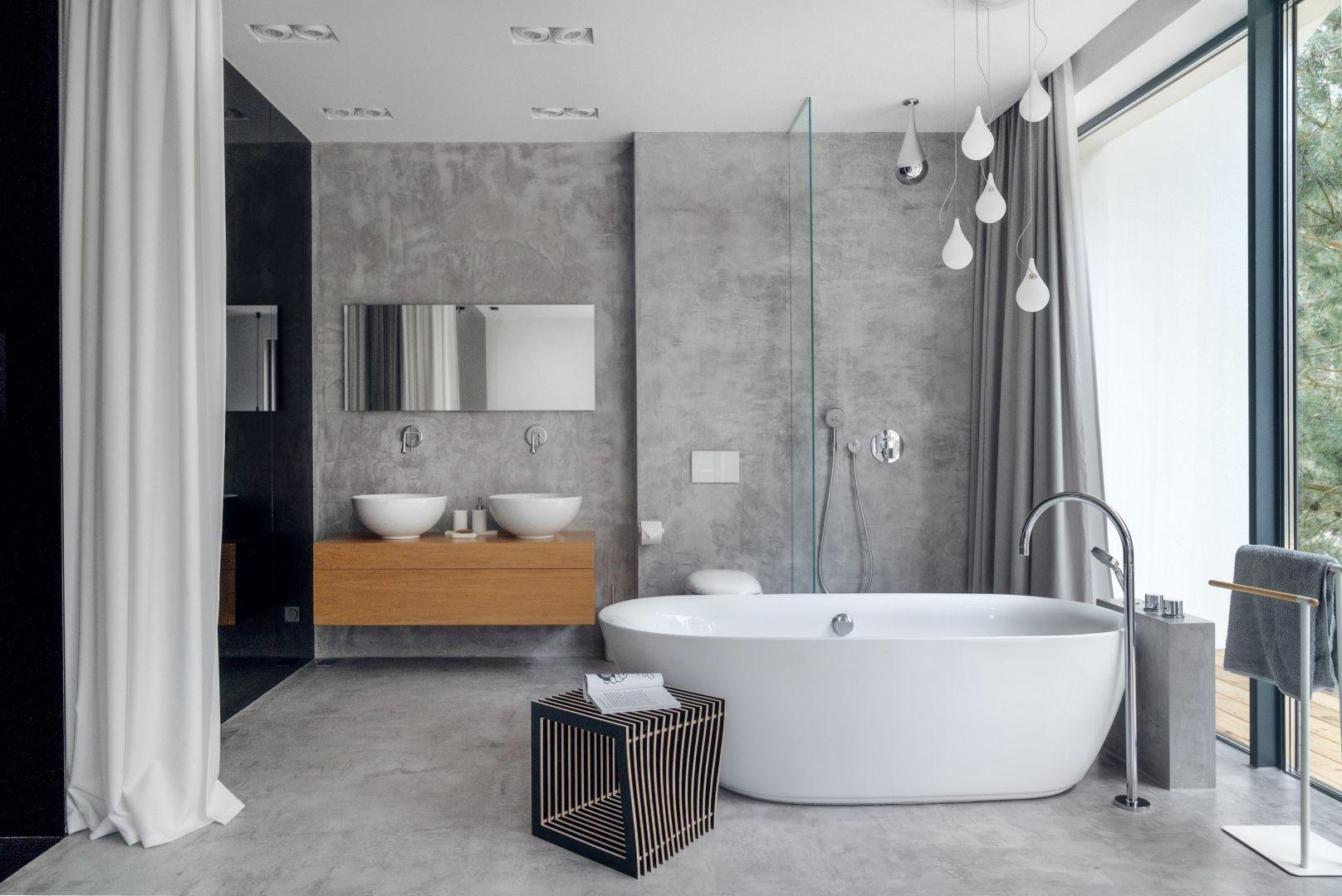 Łazienka marzeń - urządzamy salon kąpielowy. Projekt Studio Maka. Fot. Tom Kurek