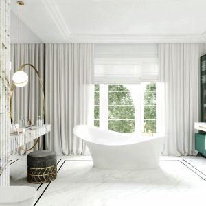 Łazienka marzeń - urządzamy salon kąpielowy. Projekt Tissu Architecture