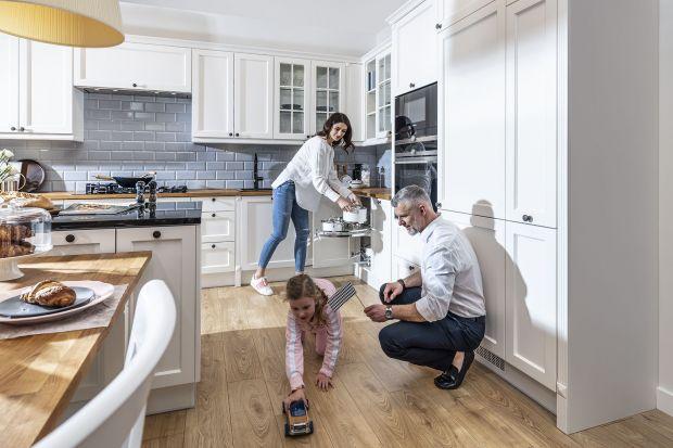 Ergonomia w kuchni: praktyczna szafka narożna