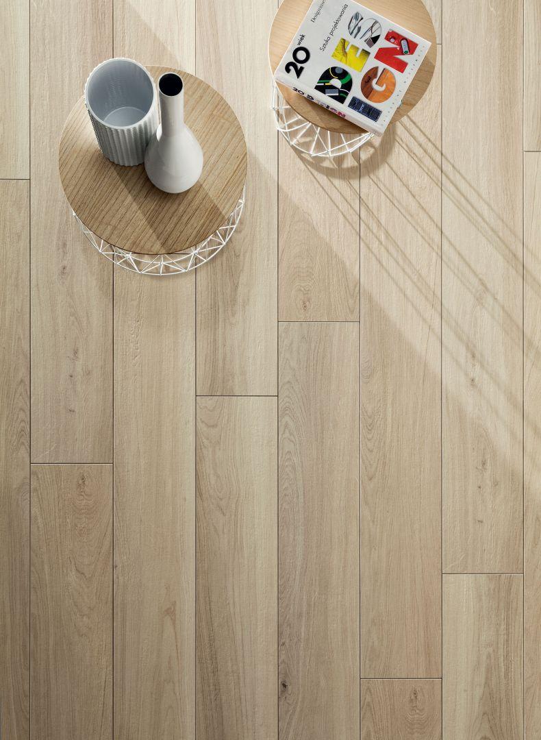 Kolekcja Wood Block beige STR marki Korzilius