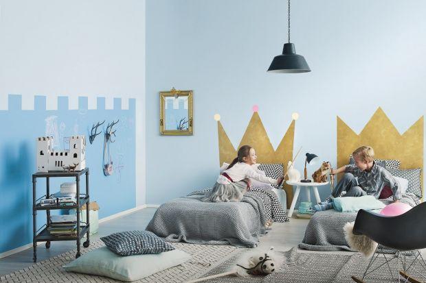 Jak stworzyć magiczny zamek w pokoju dziecka? Bez problemu każdy może zrobić go sam. Wystarczy dobry pomysł i kolorowe farby.<br /><br />