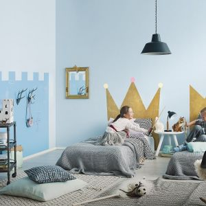 Zamek w pokoju dziecka. Fot. Tikkurila