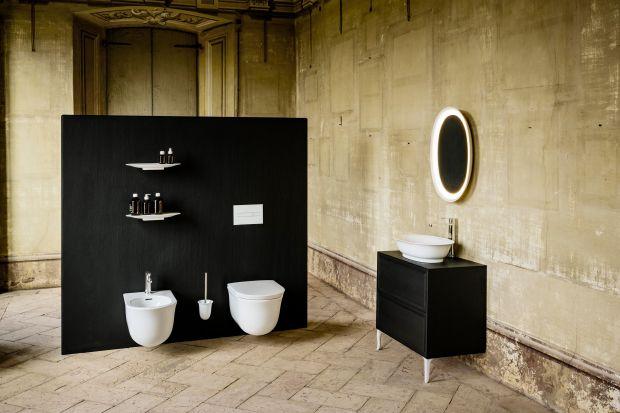 Metaliczne wykończenie, subtelne linie, cienkie ścianki mebli Sonar albo sentymentalne meble w serii The New Classic to idealne rozwiązanie do salonu kąpielowego, który zachowa styl oferując funkcjonalne rozwiązanie.
