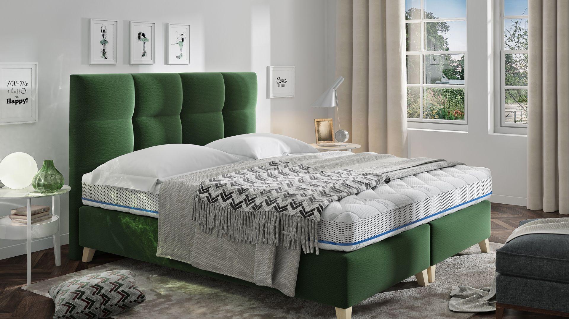 Łóżko tapicerowane Mona marki Comforteo