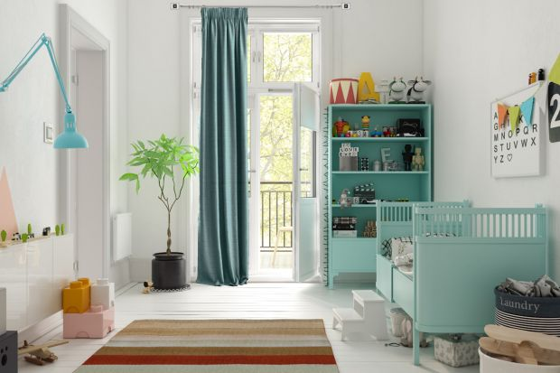 Aranżacja okna w pokoju dzieckamusi być nie tylko ładna, ale i praktyczna. Podobnie, jak meble, powinna być dopasowane do wieku naszego malucha.