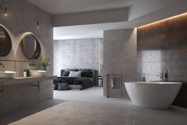 Coraz popularniejsze staje się łączenie sypialni z łazienką. Jakie jeszcze zaletyma takie rozwiązanie?
