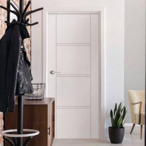 Drzwi Brenta dobrze wpiszą się w skandynawskie aranżacje. Fot.RuckZuck