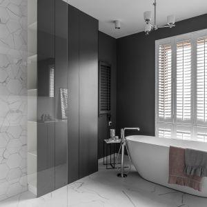 Nowoczesny romantyzm – odkrywamy nowe oblicze łazienki. Projekt Studio Maka