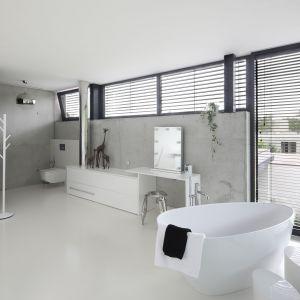 Piękne, nowoczesne wnętrze. Autorzy projektu: Hanna i Seweryn Nogalscy, Beton House. Fot. Bartosz Jarosz