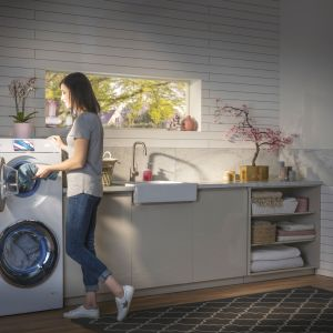 Pranie i suszenie w pralko suszarce. Fot. Haier