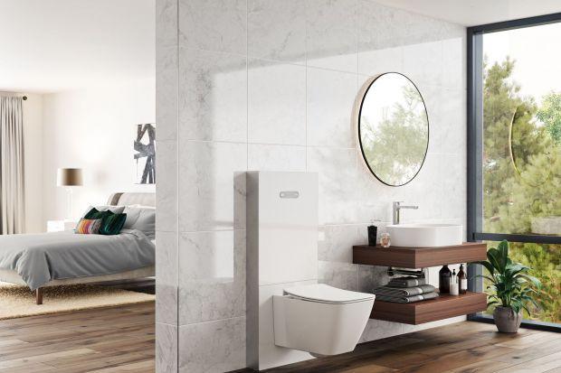 Toalety z funkcją mycia, designerskie stelaże czy smart technologie budują nowoczesną strefę WC. Zaawansowane technologicznie urządzenia przenoszą ją na wyższy poziom higieny i komfortu.