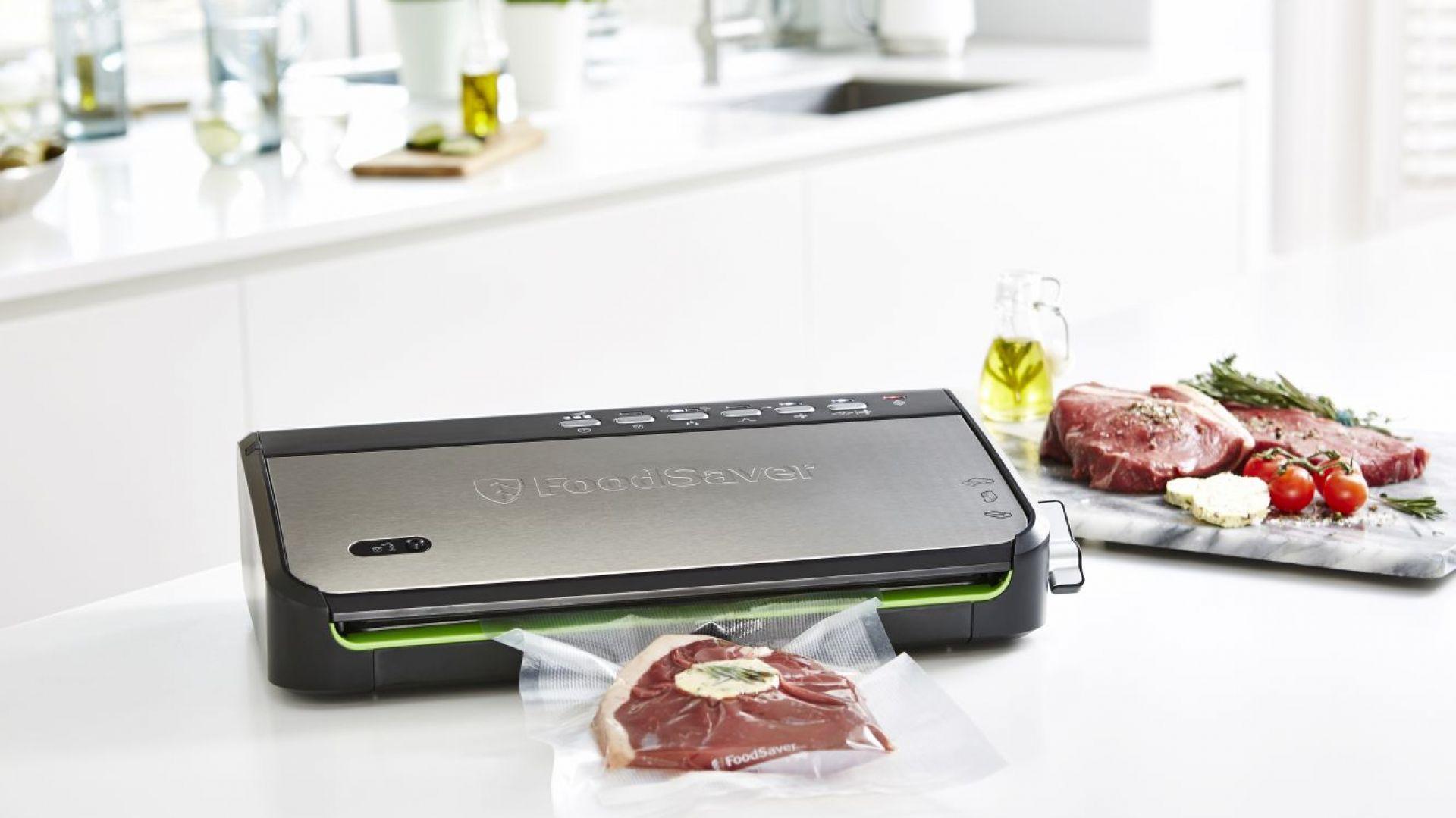 Urządzenie do pakowania próżniowego Vacuum Sealer SideFood+BagSealed