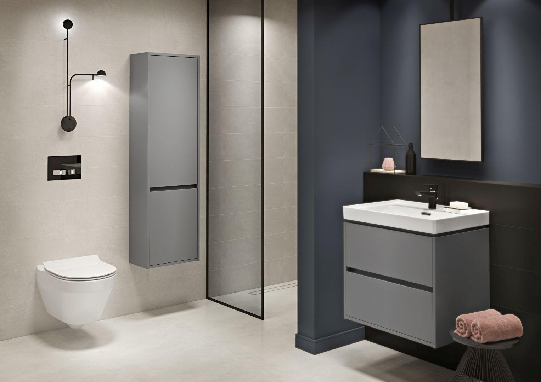 Remont łazienki – jak w łatwy sposób stworzyć spójną przestrzeń? Fot. Crea