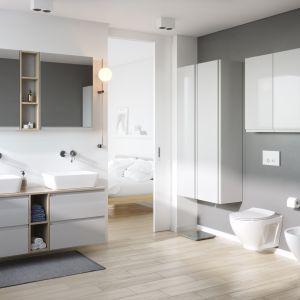 Remont łazienki – jak w łatwy sposób stworzyć spójną przestrzeń? Fot. Moduo
