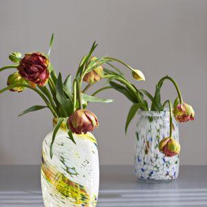 Splash Vase Round, Hay