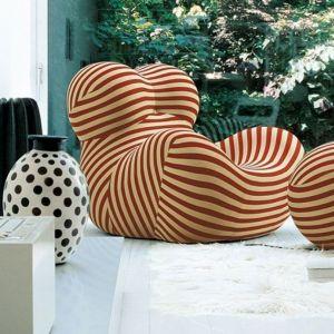 Fotel Up Junior marki B&B Italia - projekt wizjonera i designera Gaetano Pesce. Fot. B&B Italia