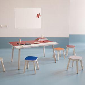 Ekologiczny i higieniczny materiał wykończeniowy, który pobudza kreatywność designerów. Poznaj Forbo Furniture Linoleum