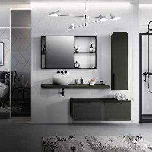 Kolekcja mebli łazienkowych Rond marki Novellini