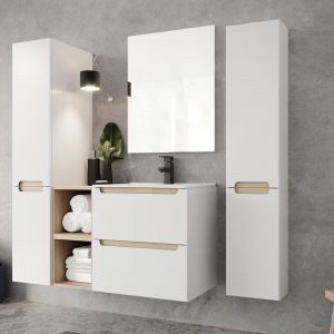 Kolekcja mebli łazienkowych Stilla marki O nas.