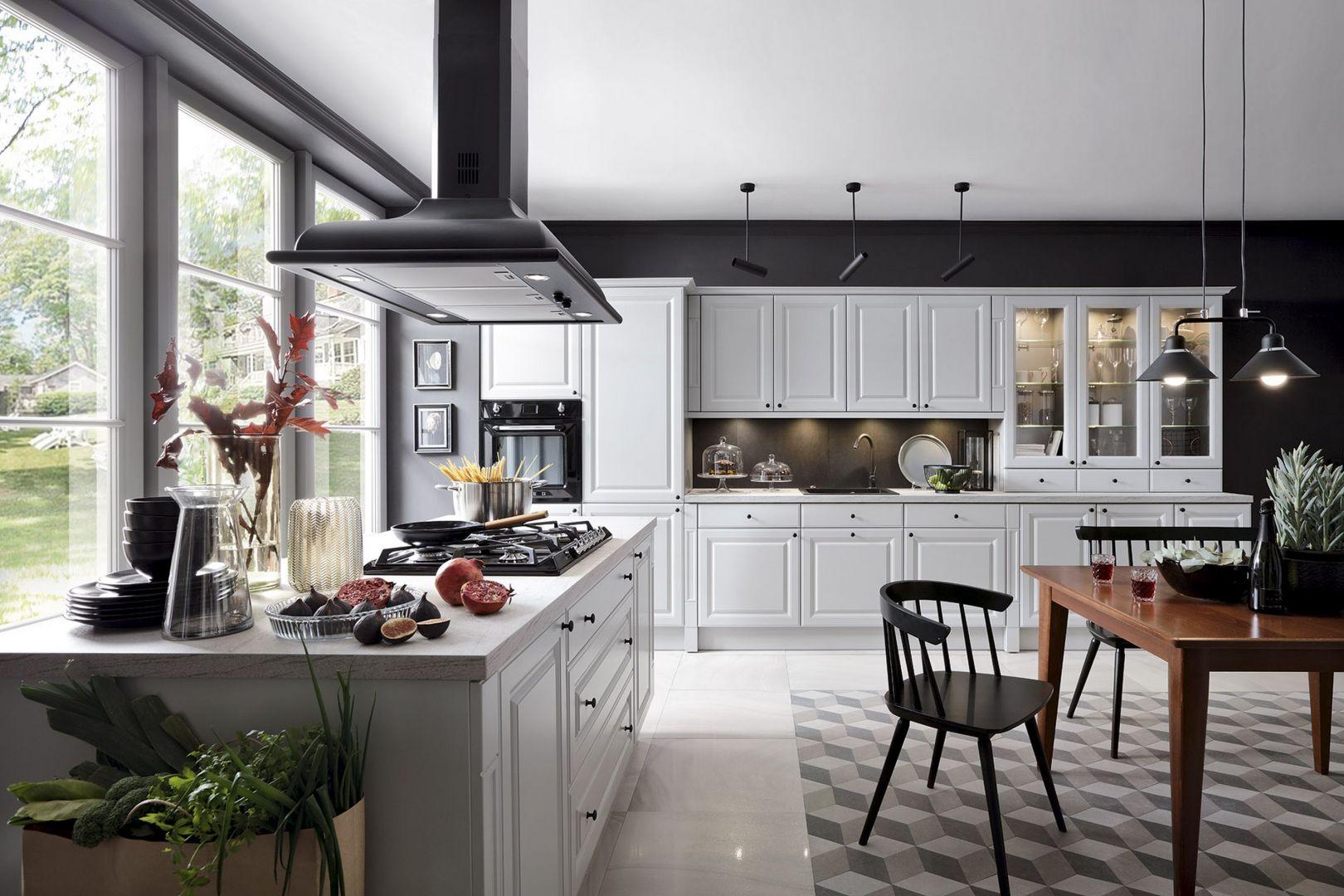 Klasyczna kuchnia w jasnych kolorach: 20 fajnych pomysłów na urządzenie. Fot. BRW
