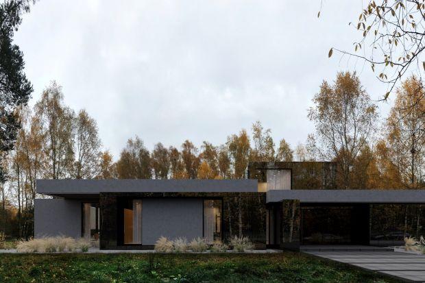 Kolejna realizacja Re: Stark House projektu architekta Marcina Tomaszewskiego z pracowni Reform Architekt powstanie w Tuszynie. Bezpośrednie sąsiedztwo lasu i dzikiej przyrody skutecznie wymusiło podłużny kształt domu, a nieco surowy w odbiorze wygl