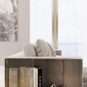 Pierwsza kolekcja do wnętrz w historii domu mody Elie Saab. Fot. materiały prasowe