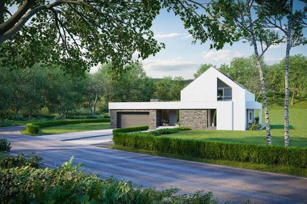 Bardzo ciekawy dom w stylu nowoczesnej stodoły. Zobaczcie projekt i wnętrza!