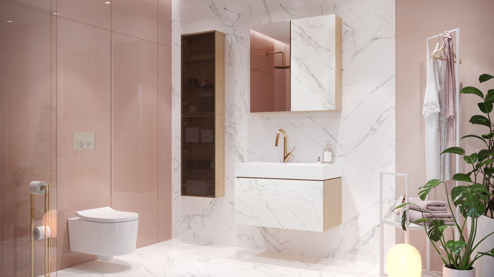 Maksymalny minimalizm - postaw na kompleksowe wyposażenie łazienki. Fot. Inverto Cersanit