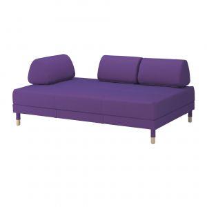 Rozkładana sofa Flottebo IKEA, indywidualnie owinięte sprężyny kieszeniowe, duża przestrzeń do przechowywania pod siedziskiem, zdejmowalne pokrycie. Fot. IKEA