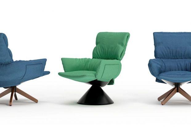 Ten fotel w całości wykonano z materiałów z recyklingu. Zobaczcie projekt słynnej designerki dla równie słynnej marki, który właśnie ujrzał światło dzienne.