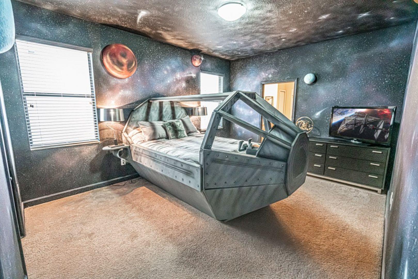 Dom inspirowany filmem Gwiezdne Wojny. Fot. Loma Homes