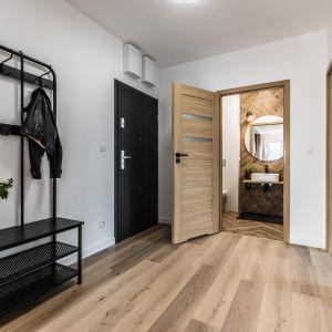 Nowoczesne wnętrze w loftowym klimacie. Projekt: Ewelina Matyjasik-Lewandowska. Fot. Tomasz Kazaniecki