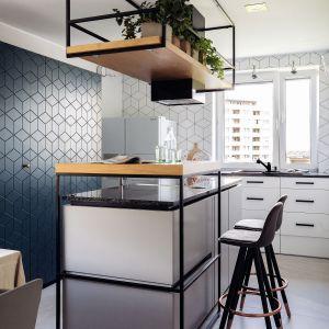 Trendy 2020: kuchnia w kolorze roku Classic blue. Projekt Magma