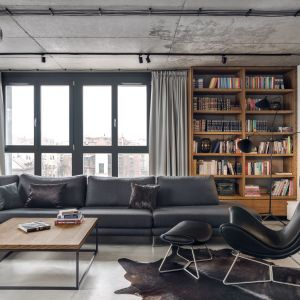 Projekt wnętrza: BLACKHAUS Karol Ciepliński Architekt. Zdjęcia: Tom Kurek