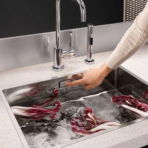 Nowoczesna strefa zmywania. Fot. Dornbracht New kitchen sinks
