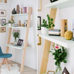 Biurko Ladder dla tych, którzy mają naprawdę niewiele miejsce na kącik pracy w domu. Funkcjonalne biurko w formie drabinki oszczędza miejsce i wygląda zjawiskowo! Dostępne w różnych kolorach i w gamie różnych materiałów. Od 799 zł, Minko.