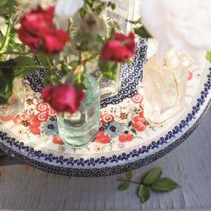 Porcelana w kolorach lata - 20 pomysłów na aranżację stołu. Fot. Ceramika Bolesławiec