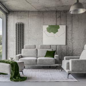 Kanapa i fotele z kolekcji Merano dostępne w ofercie firmy Gala Collezine. Fot. Gala Collezione