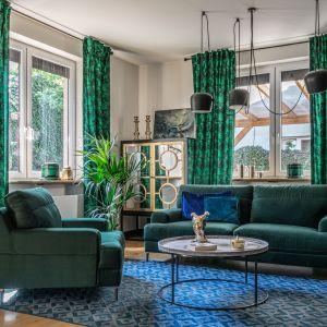 Kanapa i fotele z kolekcji Monday dostępne w ofercie firmy Gala Collezine. Fot. Gala Collezione